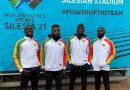 GHANA 4×100 MEN'S RELAY QUALIFY FOR OLYMPIC GAMES.