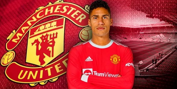 OFFICIAL: RAPHAEL VARANE SIGNS FOR MANCHESTER UNITED.
