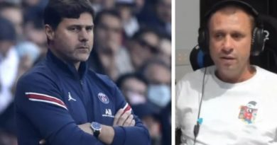 CASSANO: POCHETTINO WILL HAVE A SHORT LIFE AT PSG, I HAVE HEARD BAD THINGS ABOUT HIM.